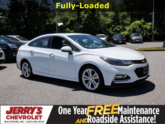 Pre-Owned 2017 Chevrolet Cruze Premier FWD 4dr Car