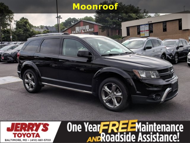 2016 Dodge Journey >> Pre Owned 2016 Dodge Journey Crossroad Plus With Navigation Awd